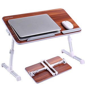 Bamboo Wood Portable Laptop Table - Liked Buy