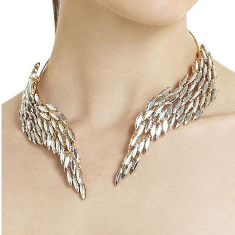 Collar Choker Statement Necklace - Liked Buy
