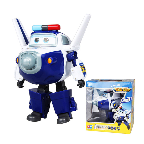 Airplane Robot Action Figures Super Wing - Liked Buy