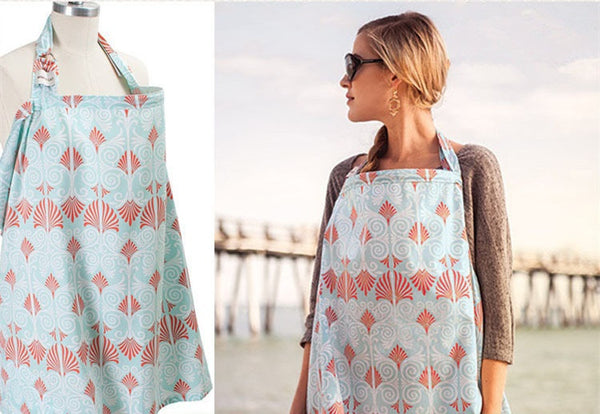 100%cotton muslin Mother feeding baby's apron - Liked Buy