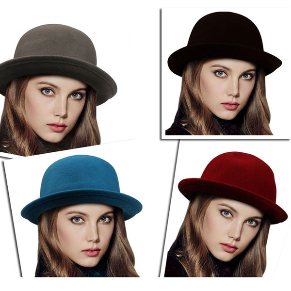 Vintage Trendy Wool Cute Hats