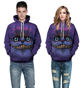 Cat 3D Printing Sweatshirts