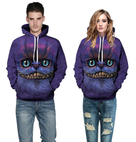 Cat 3D Printing Sweatshirts - Liked Buy