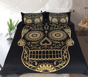 Skull Head Bedding Duvet Cover