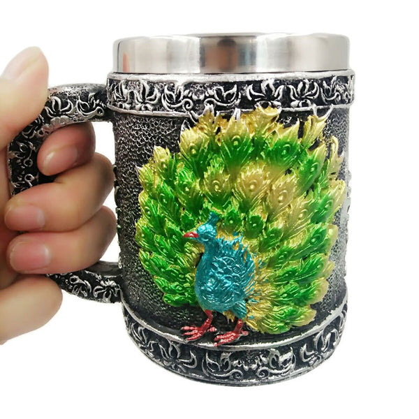 3D Skull Three-dimensional Mugs - Liked Buy