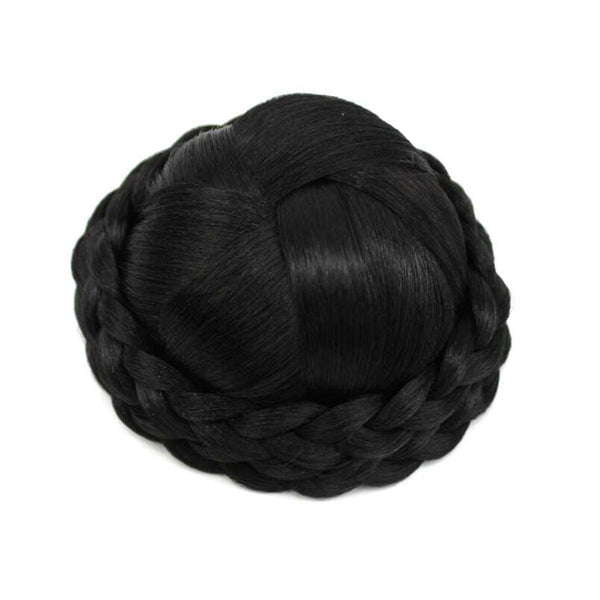 Braided Clip In Hair Roller Bun - Liked Buy