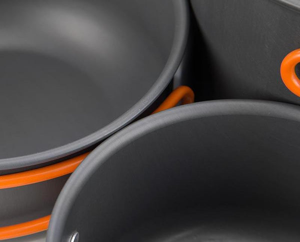 Camping Cookware Mess Kit - Liked Buy