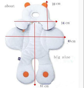 Baby Head Body Support Car Seat Cover
