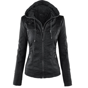 Outerwear PU Leather Jacket