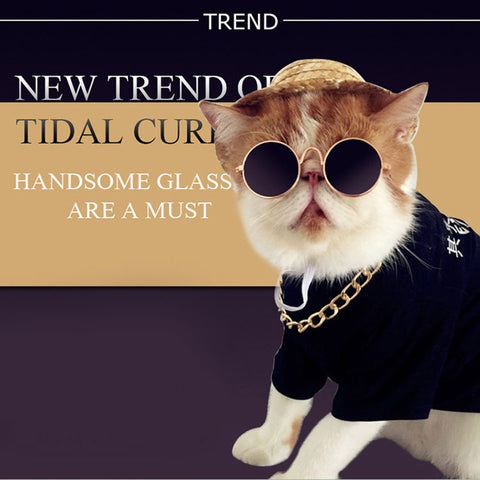 Metal Frame Cat Eye-wear