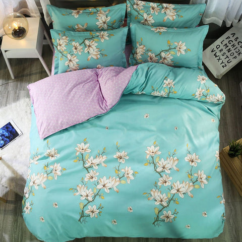 Floral King Queen Double Duvet Cover