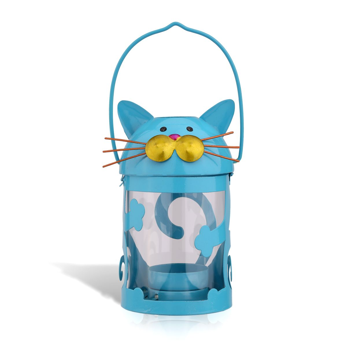 Cat Candle Holder Hurricane Lamp - Liked Buy