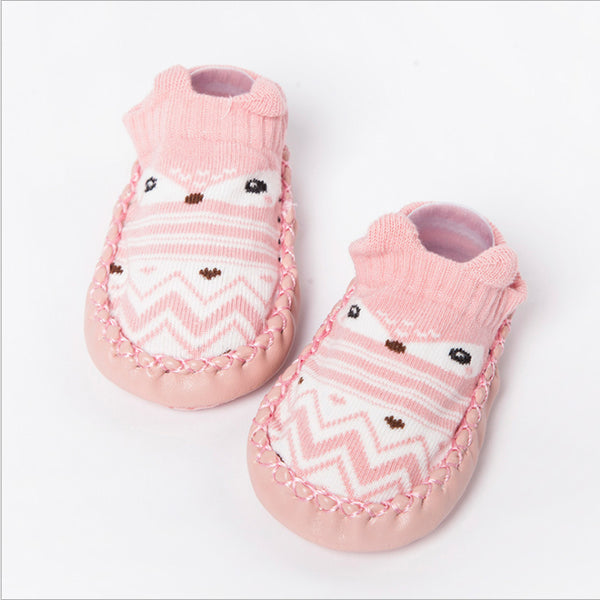 Animal Prints Soft Sole Newborn First Walker - Liked Buy