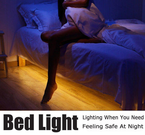 Motion Activated Sensor Bed Night Light