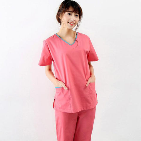 Short-sleeved surgical clothing
