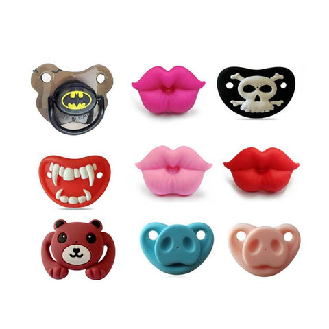 Silicone Funny Nipple Pacifier Baby Soother