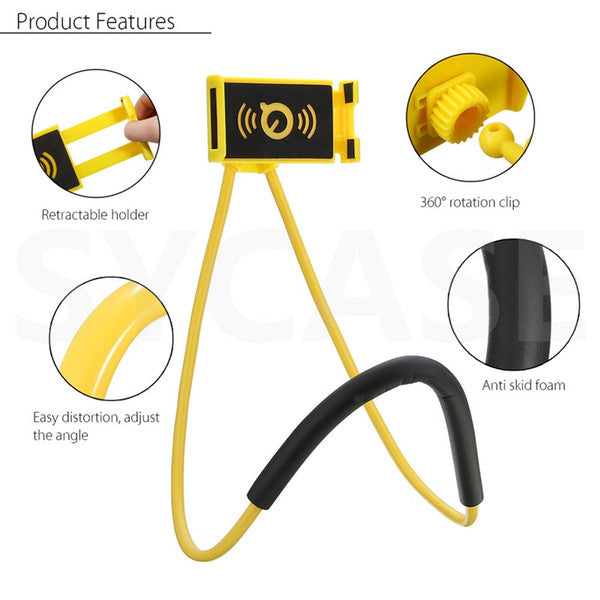 360 Degree Rotation Flexible Phone Selfie Holder - Liked Buy