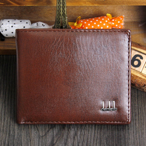 New Vintage PU Leather Wallet