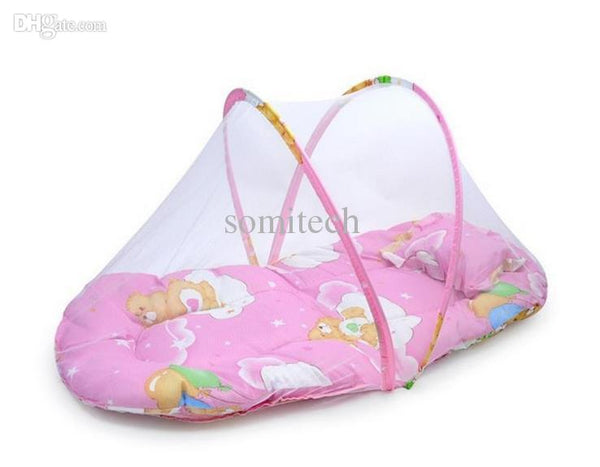 Baby Bed cradle Crib with Folding Mosquito Net - Liked Buy