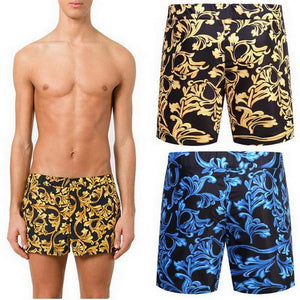 Polyester Printed Floral Swim Shorts