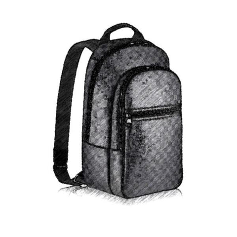 Top quality famous fashion backpack