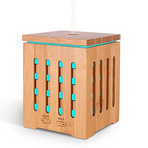Bamboo Ultrasonic Cool Mist Humidifier