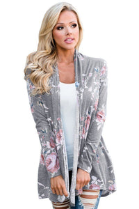 Women Long Sleeve Knitted Cardigan