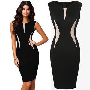 Ladies Formal Party Pencil Dress