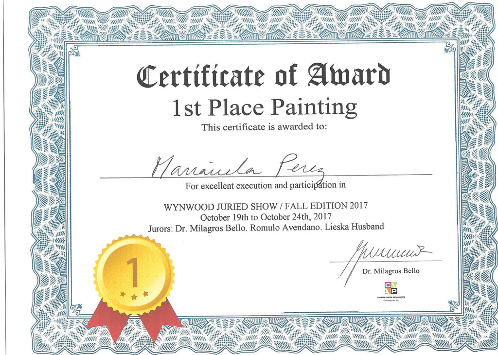 1st Place Painting