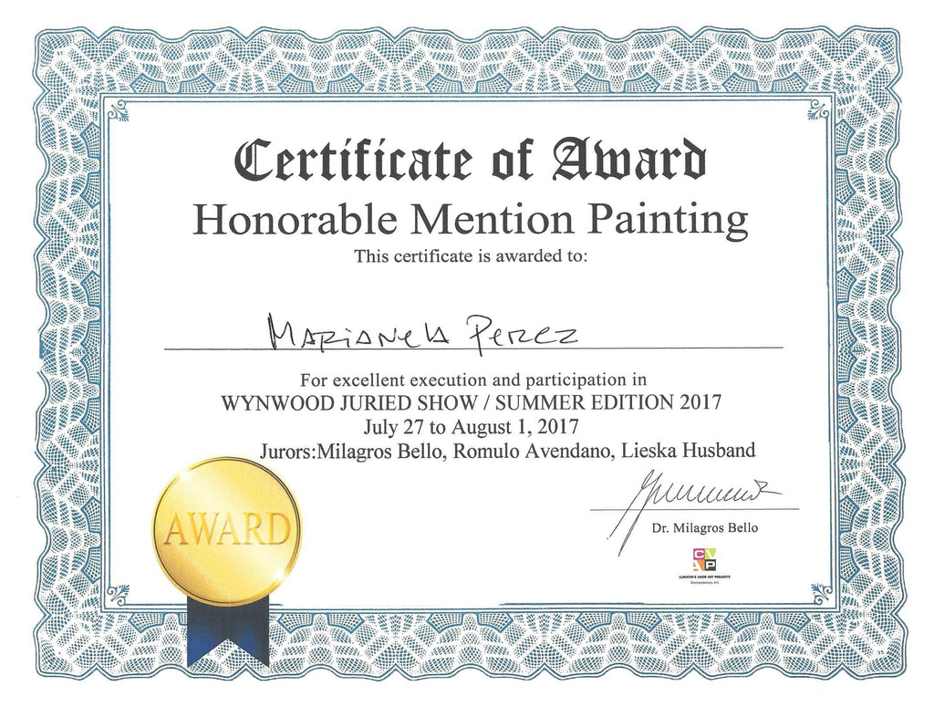 Honorable Mention Painting