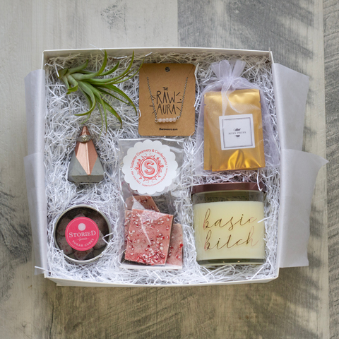 Rose Gold Gift Box Gifted RVA Curated Gifts
