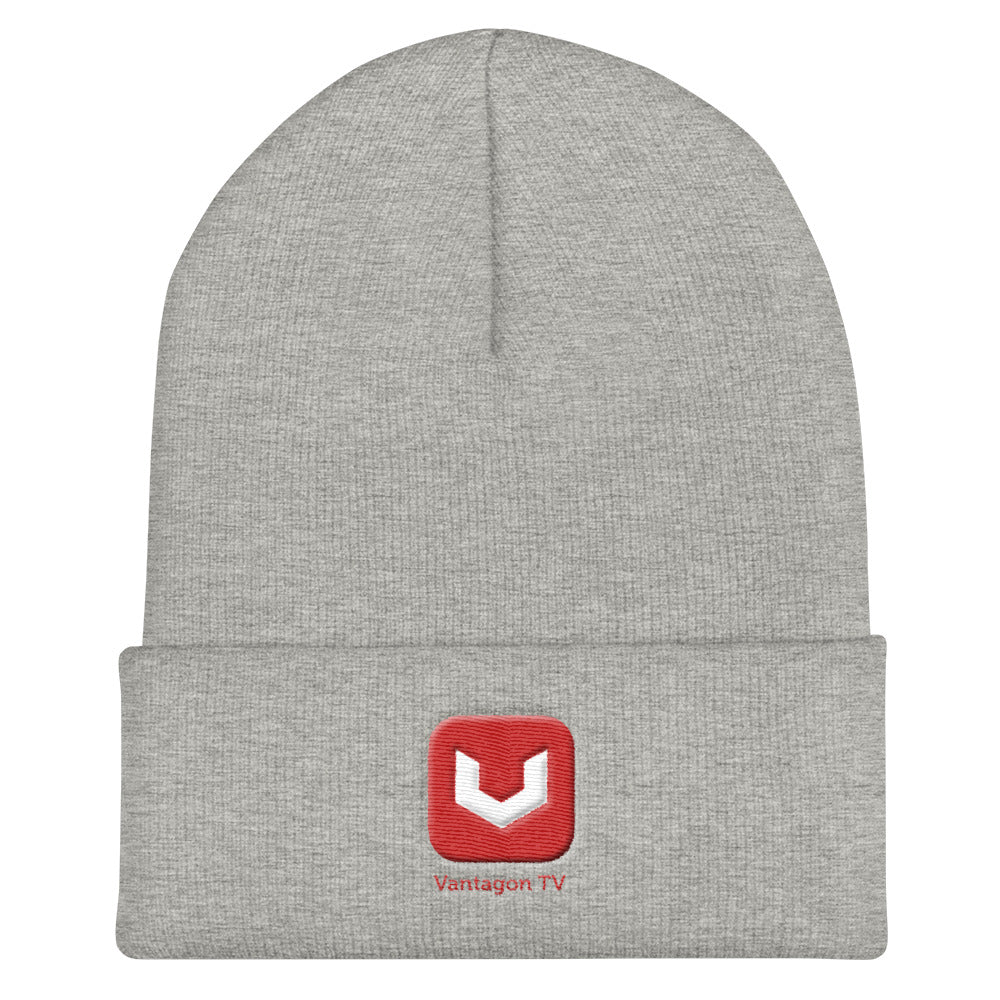 Vantagon TV Cuffed Beanie