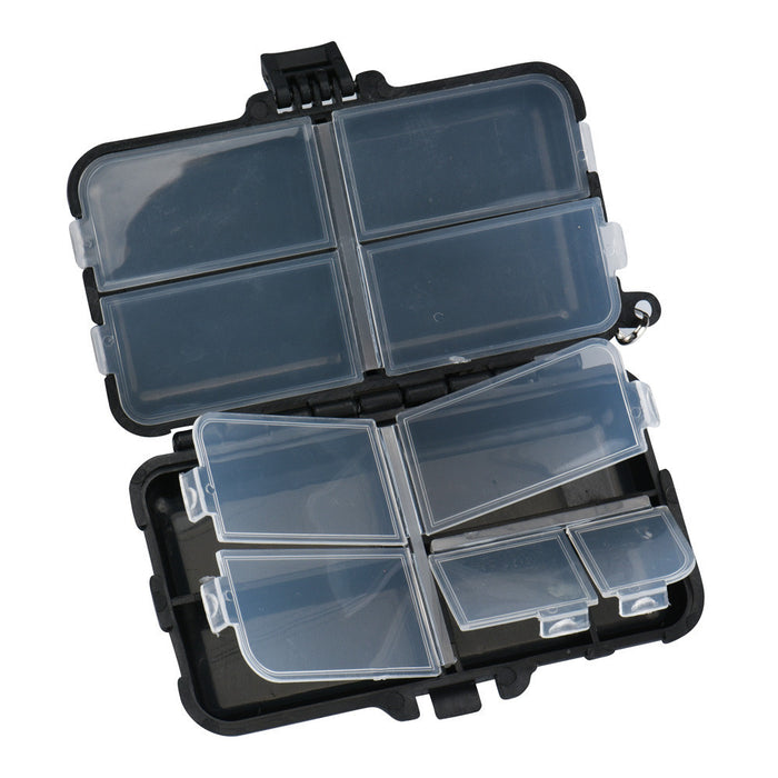 MUQGEW 1pcs Fly Fishing Box 9 Compartments Fishing Tackle Box Fishing Accessories#