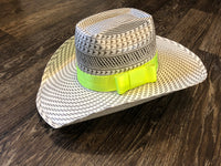 Neon Green Hat Band