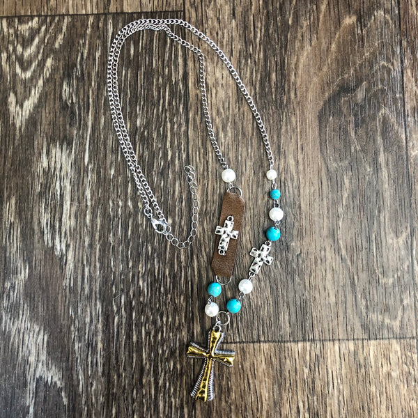 Crosses Charm necklace