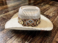 Brown Aztec Hat band