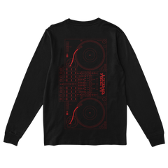 DJ Jazzy on Deck Long Sleeve Tee
