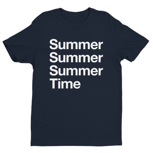 SUMMERTIME NAVY T-SHIRT