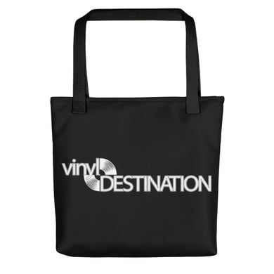 Vinyl Destination Tote Bag