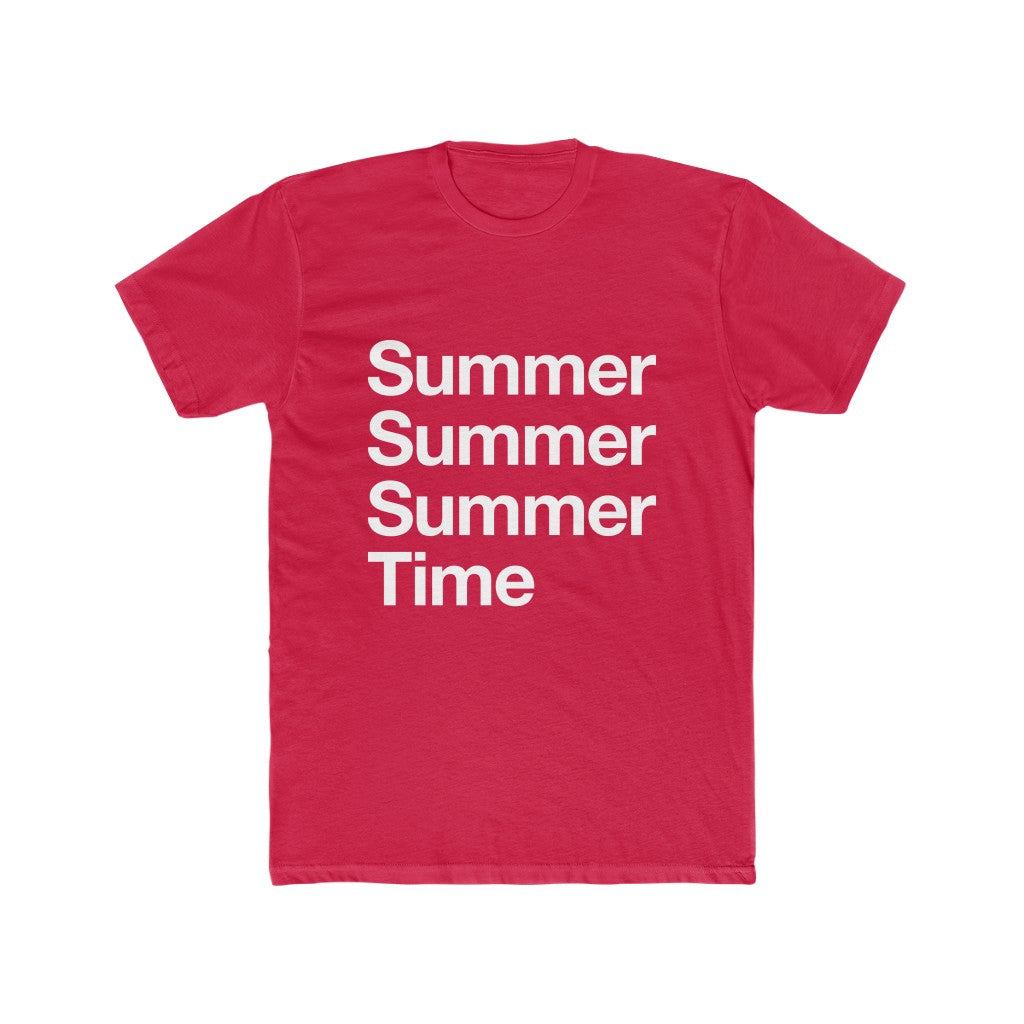SUMMERTIME RED T-SHIRT