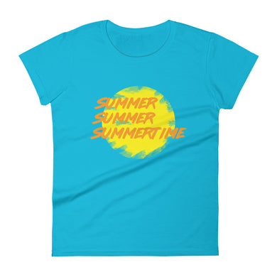 Summertime Sun Women's T-Shirt
