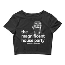 The Magnificent House Party Women's Crop Tee