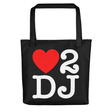 Love 2 DJ Tote bag