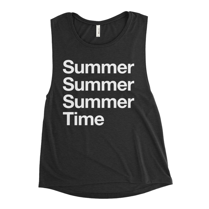 Summertime Ladies' Muscle Tank