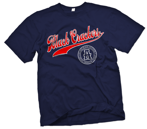 "Atlanta Black Crackers ""Grandstand"" T-Shirt - Negro League Baseball Shop"