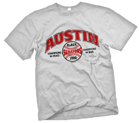 "Austin Black Senators ""Showcase"" T-Shirt - Negro League Baseball Shop"