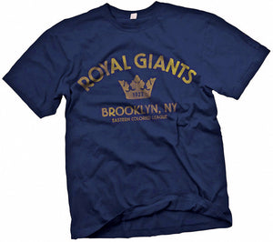 Brooklyn Royal Giants Handpainted T-Shirt - Negro League Baseball Shop