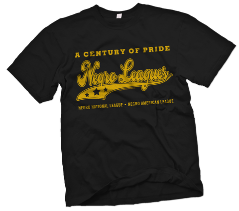 "Century of Pride ""Grandstand"" T-Shirt - Negro League Baseball Shop"
