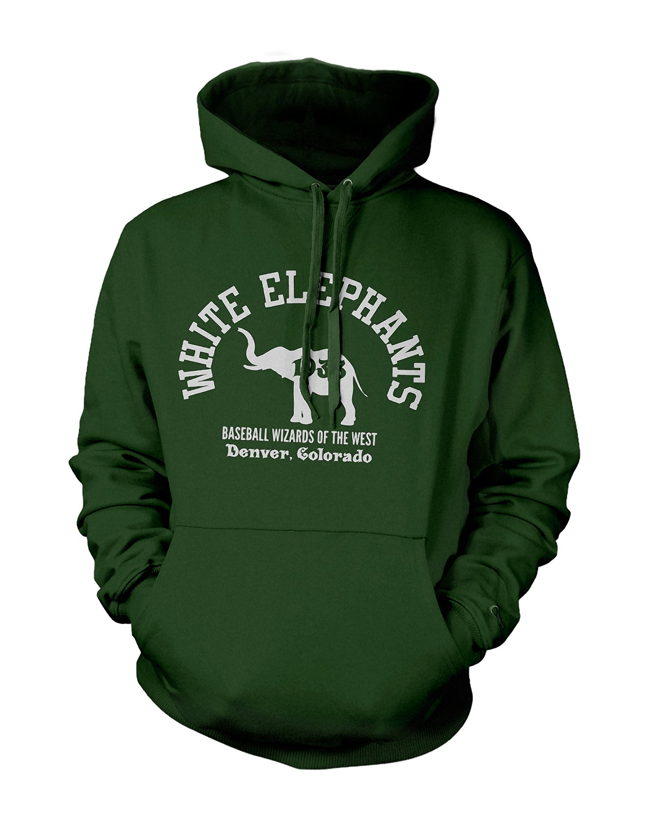 Denver White Elephants Hoodie - Negro League Baseball Shop