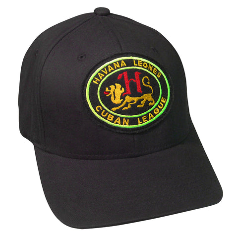 "Havana Leones ""Goldstitch"" Cap - Negro League Baseball Shop"